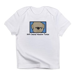 Anime Soft Coated Wheaten Terrier Baby Bodysuit Infant T-Shirt