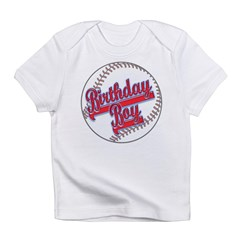 Baseball Birthday Boy Infant T-Shirt