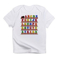 ABC Train Infant T-Shirt