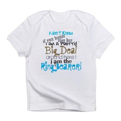 Big Deal Ring Bearer Infant T-Shirt