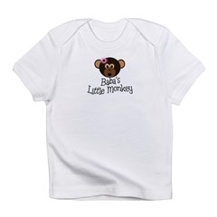 Baba's Little Monkey Infant T-Shirt