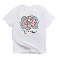 Butterfly Big Sis Infant T-Shirt