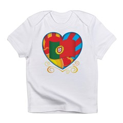 Portugese Heart Infant T-Shirt