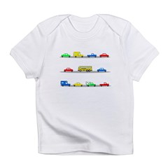 Cars! Cars! Cars! Infant T-Shirt