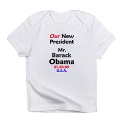 Mr. President Inauguration Obama Infant T-Shirt