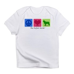 Peace Love Newfie Infant T-Shirt