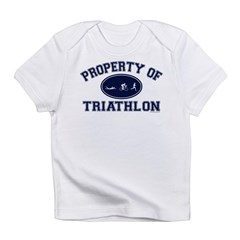 Property of Triathlon Icons Infant T-Shirt