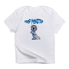 Poop Monster Infant T-Shirt