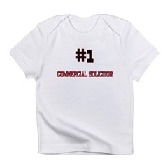 Number 1 COMMERCIAL SOLICITOR Infant T-Shirt