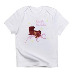 Girl Cradle Catholic Infant T-Shirt