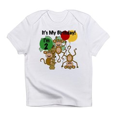 Monkey 2nd Birthday Infant T-Shirt
