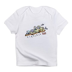 Virginia Map Infant T-Shirt
