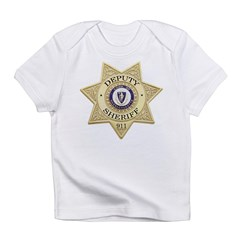 Massachusetts Deputy Sheriff Infant T-Shirt