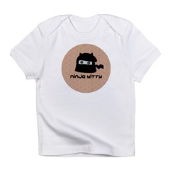 Ninja Kitty Infant T-Shirt