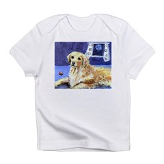 GOLDEN RETRIEVER senses moon Infant Creeper Infant T-Shirt