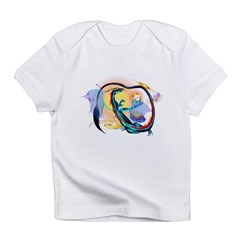 Blue Galaxy Dragon Infant T-Shirt