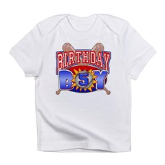 Baseball Boy 5th Birthday Infant T-Shirt