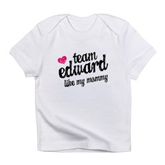 Team Edward Mommy Infant T-Shirt