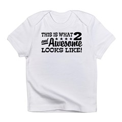 Funny Two Year Old Infant T-Shirt