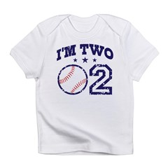 Two Year Old Baseball Infant T-Shirt