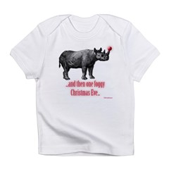RhinofoggyXmaseve Infant T-Shirt