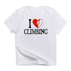 I Heart Climbing - Guy 2 Infant T-Shirt