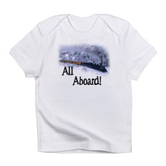 Trains Kids Infant T-Shirt