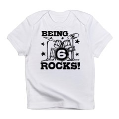 Cute 6th Birthday Infant T-Shirt
