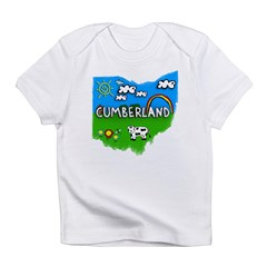 Cumberland, Ohio. Kid Themed Infant T-Shirt