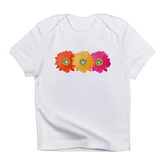 Happy Gerber Daisy Infant Creeper Infant T-Shirt