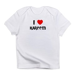 I LOVE KAREEM Infant Creeper Infant T-Shirt