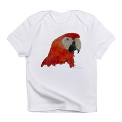 Scarlet Macaw Kids Infant T-Shirt