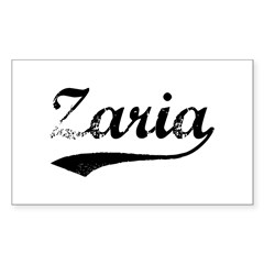 Vintage Zaria Sticker (Rectangle)