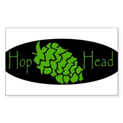 Hop Head Sticker (Rectangle)