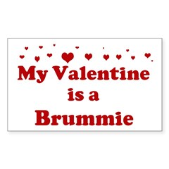 Brummie Valentine Sticker (Rectangle)