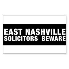 Solicitors beware Sticker (Rectangle)