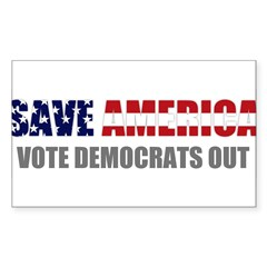 Save America Sticker (Rectangle)