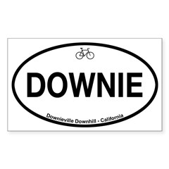 Downieville Downhill Sticker (Rectangle)