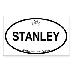 Stanley Gap Trail Sticker (Rectangle)