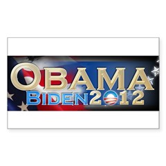 Obama Biden - Sticker (Rectangle)