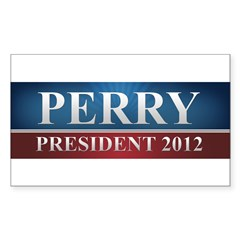 Rick Perry 2012 Sticker (Rectangle)