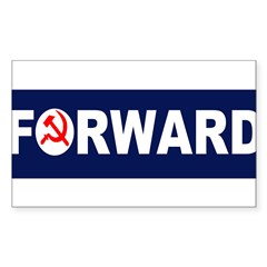 AmerikaForward Sticker (Rectangle)