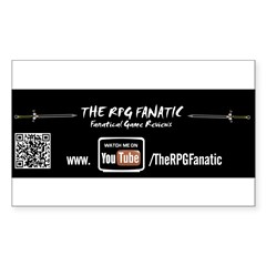 RPG Fanatic Bumper Sticker (single) Sticker (Rectangle)