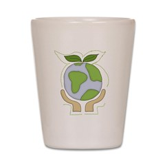 earthfriendhands.png Shot Glass
