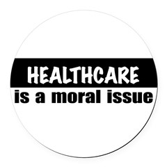 Healthcare Round Car Magnet