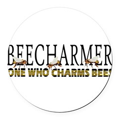 BEECHARMER Round Car Magnet