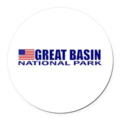 Great Basin National Park Round Car Magnet
