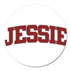 JESSIE Design Round Car Magnet
