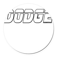 Dodge Round Car Magnet