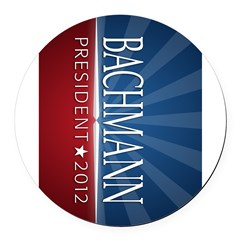 Bachmann - Ray of Hope Design Round Car Magnet